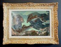 LILY MASSON (1920-2019) Fille du peintre André MASSON // Oeuvre Surréaliste (8)