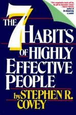The Seven Habits of Highly Effective People by Stephen R. Covey (1989,...