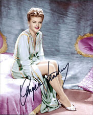 Angela Lansbury signed authentic 8x10 photo COA