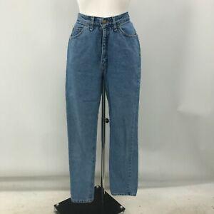 Riders by Lee 36x27 Womens Faded Worn High Waist Heavyweight Denim Jeans