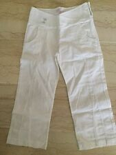 REPETTO: SUPERBE PANTALON BLANC FILLE TAILLE 6 ANS