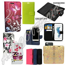 Universal Leather Wallet Book Case Cover Pouch For Samsung Galaxy Mobile Phones