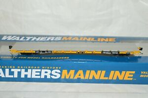 HO scale Walthers TTX MTTX Trailer Train 60' flat car train 92151