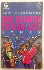 Zwei Elefanten spielen Jazz; Paul Beardmore