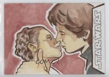 2016 Topps Star Wars Evolution Sketch Cards #TBLH Tina Berardi 1/1 Card 0c3