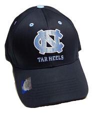 differently 8ff82 f65ec University of North Carolina UNC Tar HEELS Blue Adjustable Hat Cap Logo  Retro