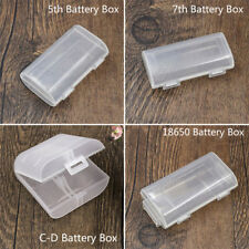Portable Hard Plastic Case Storage Box Holder Organiser For AA AAA C/D Battery