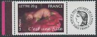 """FRANCE 2005 N°3804A**  TIMBRE PERSONNALISE avec vignette """"Ceres"""" TTB, MNH"""