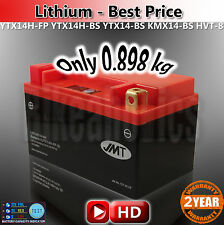 ONLY 898g! YTX14H-BS LITHIUM LiFePo4 MUCH MORE CCA THAN A GEL AGM MF LEAD ACID