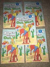 LOT OF 5 The Berenstain Bears' OUT WEST Paperback Guided Reading Level K