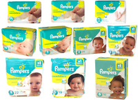 Pampers Swaddlers Diapers, Size P-1, P-2, P-3, Newborn 1 2 3 4 5 6 - ALL SIZES