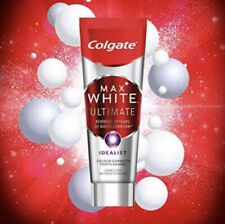 4 x Colgate Max White Ultimate Idealist Whitening 75ml each Toothpaste NO BOX