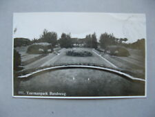 NEI NETHERLANDS INDIES, PPC (Yzermanpark Bandoeng) to Austria 1935