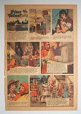 ★ Prinz Eisenherz Full Comic Sunday 4. Januar 1953 Hal Foster Prince Valiant