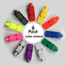 6 PACK = $4.25 per Fox 40 Mini Whistle (109dB-pealess) - MORE FOR LESS  - MIX!