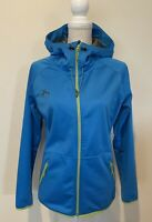 Powderhorn Women's Jacket Windbreaker Softshell Hooded Size Medium M Excellent