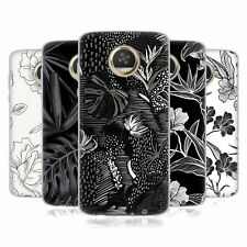 OFFICIAL HAROULITA BLACK AND WHITE 5 SOFT GEL CASE FOR MOTOROLA PHONES