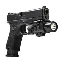 NcStar GEN3 Pistol Handgun 200 Lumen CREE LED Flashlight w/Strobe & Green Laser