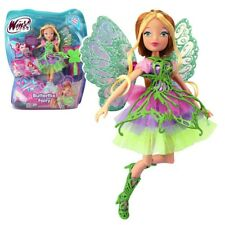 Winx Club - Butterflix Fairy Puppe - Fee Flora magisches Gewand