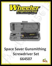 Wheeler Space Saver Gunsmithing Screwdriver Set - 664507