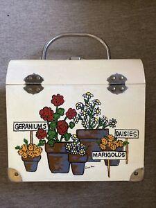CARO NAN Floral Box Purse