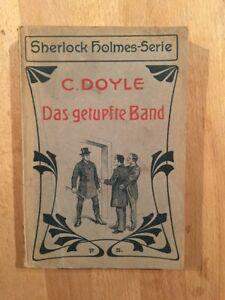 Sherlock Holmes - Edition allemande - 1907 - Illustrée - TBE