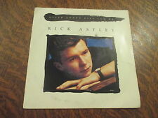 45 tours rick astley never gonna give you up