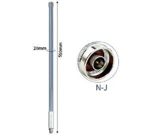 PureTek® 868MHz LoRa LoRaWAN Helium 5.8dBi N-Male Omni Fiberglass Aerial Antenna