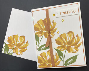 Stampin' Up! All Occasion Card Suitable For Illness