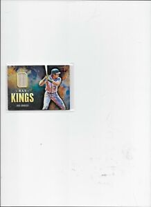JOSE CANSECO 2021 DIAMOND KINGS GAME-USED BAT RELIC RED PARALLEL FOTL SSP 4/5