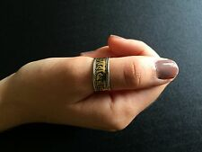 Ring Big Cuff Copper Yoga Hippie Boho Festival Gypsy Bohemian Tribal  R1014