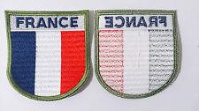 Patch TRICOLORE  écusson OPEX mission Armée Française brodée FRANCE