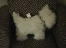 Fleur-De-Lis Furnishings White Westie Dog Couch Companion RARE Collectable