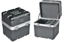 ABS Mikrofoncase für 6 Mikrofone wie zB. SM 58 Shure Mikrofon-Koffer MIC-Bag