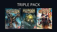 Bioshock 1 + 2 + Infinite [Includes Remastered 1+ 2] (PC) [Steam]