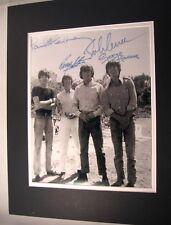 Beatles 1960's 11x14 Matted 8x10 Photo Print Lennon Ringo Paul Repro Signatures