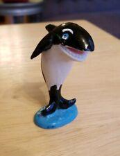 Vintage pvc figure Killer Whale Mammals Mammal Orca SeaWorld Collectible Rare