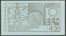 SWEDEN (H234B) Scott 866a, 70ore Trade & Industry Bklt