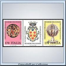 1980 Italia Repubblica Toscana Medici n. 1501/1502 **