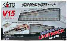 Kato V15 Double Track Set for Station Japanese packaging version 20-874