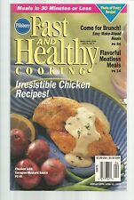 Pillsbury Fast And Healthy Cooking March April 1999 Chicken Recipes/Angel Food