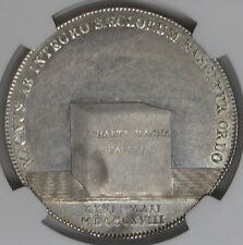 Bavaria 1818 Constitution Silver Thaler NGC MS61