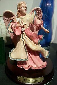 Duncan Royale Santas Alsace Angel NOS Limited Collectible porcelain figurine NEW