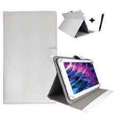 10.1 zoll Tablet Tasche Schutz Hülle -Samsung Galaxy Note 10.1  Case - Weiß 10