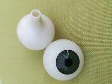 30mm Basil Grün Acryl Rund Puppen Augen