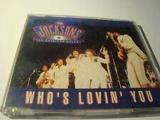 RAR MAXI CD. THE JACKSONS. WHO'S LOVIN' YOU. 3 TRACKS. 1992