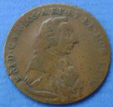 1795 Deutsches Reich - Germany - Mainz 1/4 Kreutzer 1795 Friedrich Karl Josph