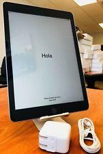 "Apple iPad 5th Gen 32GB, Wi-Fi, 9.7"" - Space Gray w Apple Warranty & Accessories"
