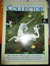 1996 Swarovski Magazine COLLECTOR THE UNICORN 1996 1/96