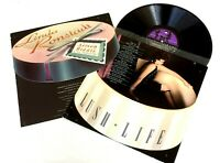 Linda Ronstadt With Nelson Riddle & Orchestra-Lush Life LP 1984 Asylum-60387-1